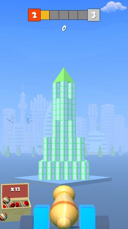 Hit & Knock : Destroy Tower screenshot-3
