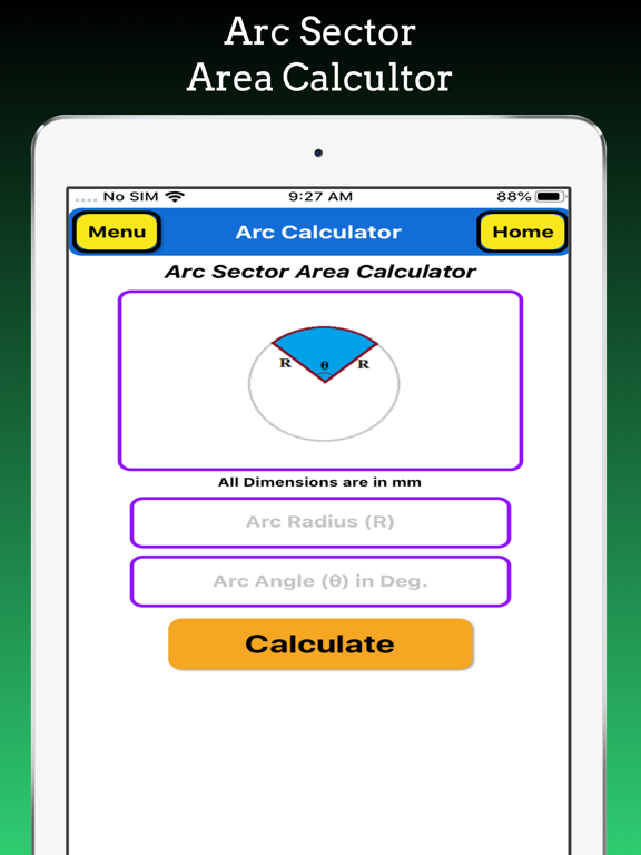 Arc Calculator Pro screenshot 13