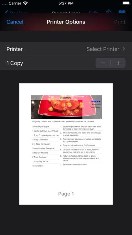 Cards, A Recipe App screenshot-4