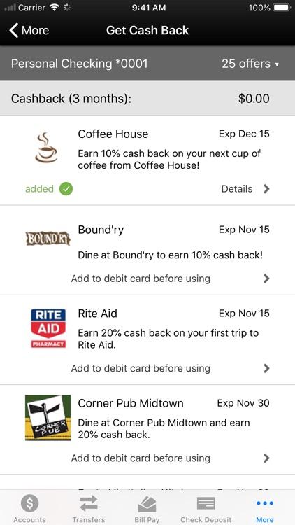 Connex Credit Union Mobile screenshot-6