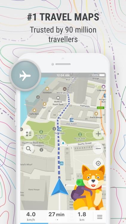 MAPS.ME – Offline Map & Nav