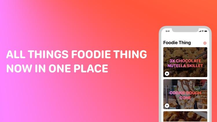 Foodie Thing