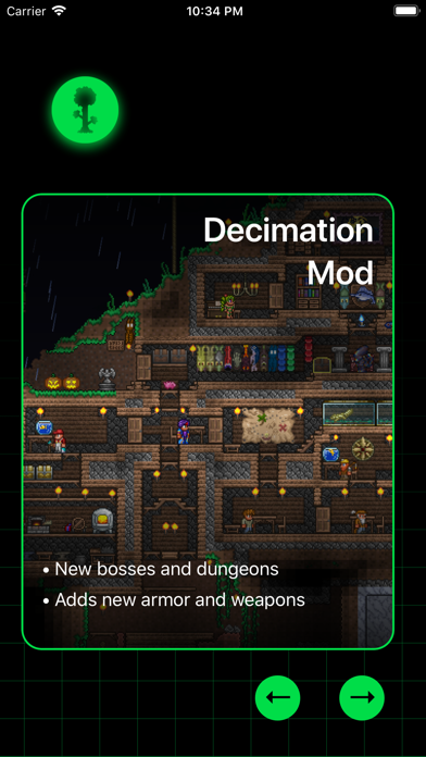 Mods for Terraria by T-Logic (iOS, United States) - SearchMan App