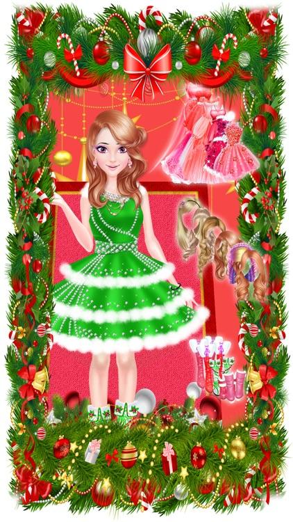 Christmas Princess Party Salon screenshot-3