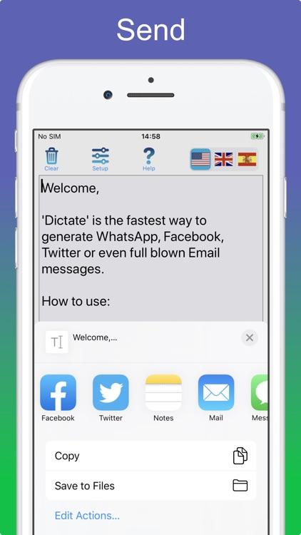 Dictation - Speech to text screenshot-5