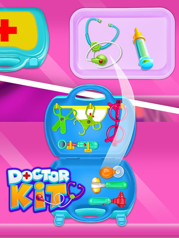 Doctor kit toys - Doctor Game screenshot 8