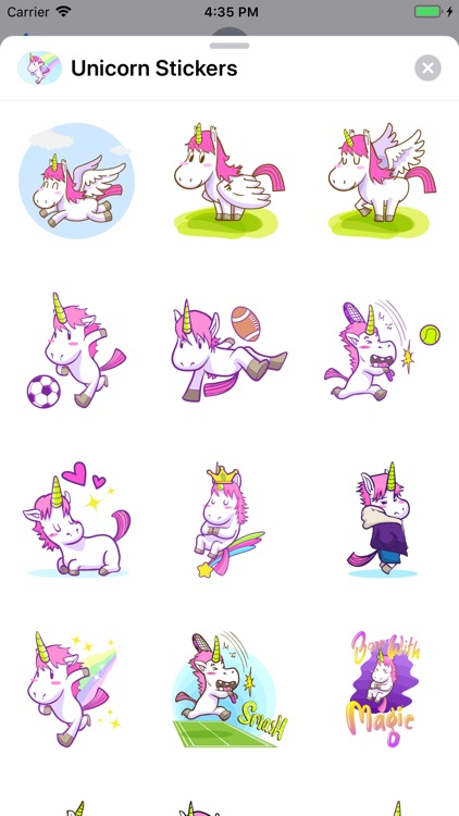 Unicorn Stickers ⋆ screenshot-4