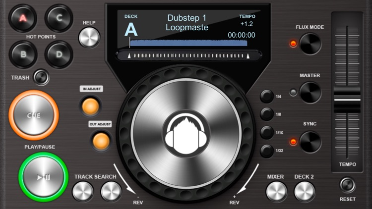 Midi DJ remote lite screenshot-0