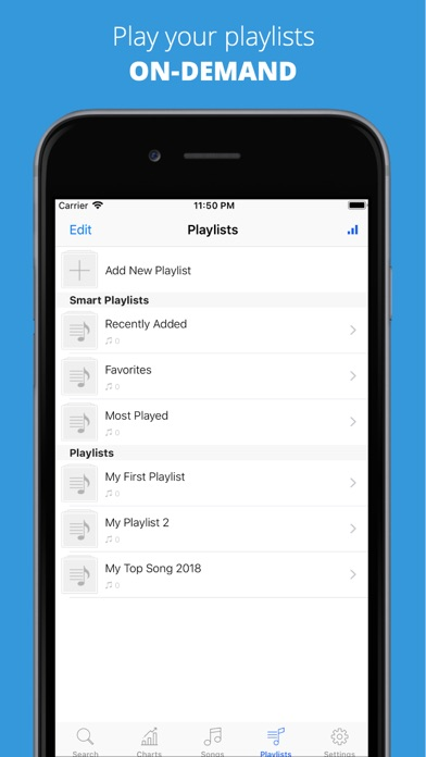 Screenshot #3 pour Music Player ๏