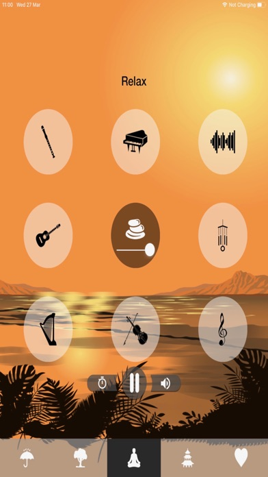 CALM MUSIC - Sounds to Relax Screenshot on iOS