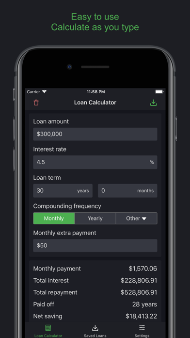 Кредитный Калькулятор: Авто, ИСкриншоты 1