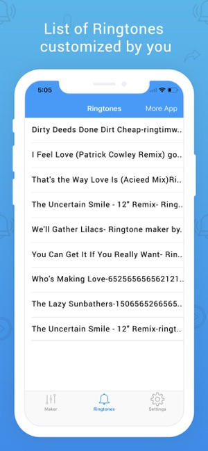 Easy Ringtone Maker Unlimited on the App Store