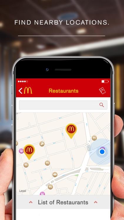 McDonald's App screenshot-3