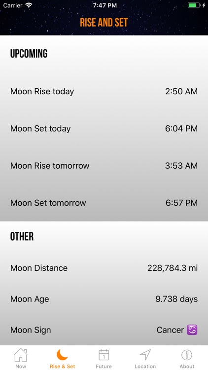 Moon Phase Calendar Plus screenshot-4