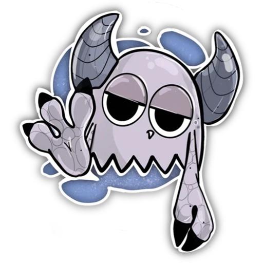 Cute Monster Sticker Pack