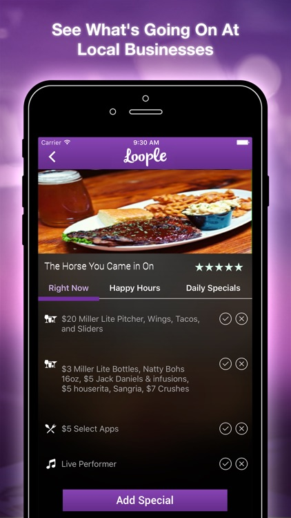 Loople: Happy Hour Finder