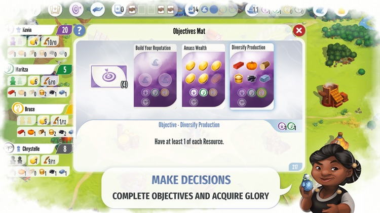 Charterstone: Digital Edition screenshot-5