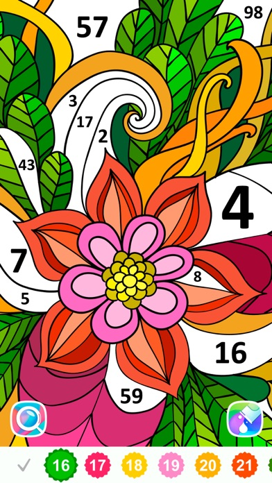 Color by Number, Coloring Book free Resources hack
