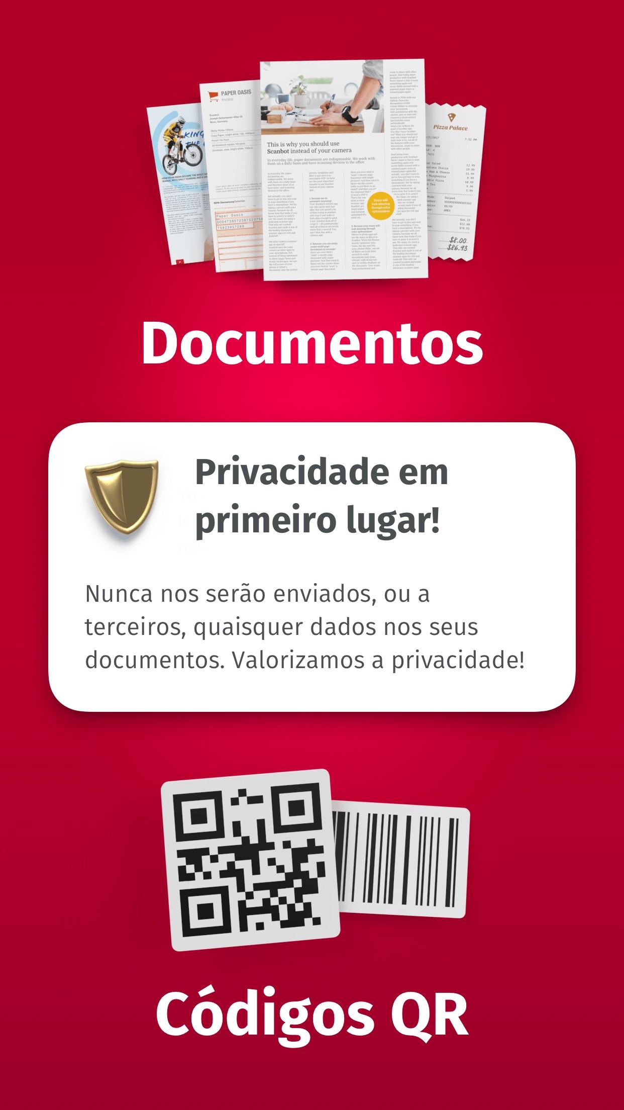 Screenshot do app ScanPro App