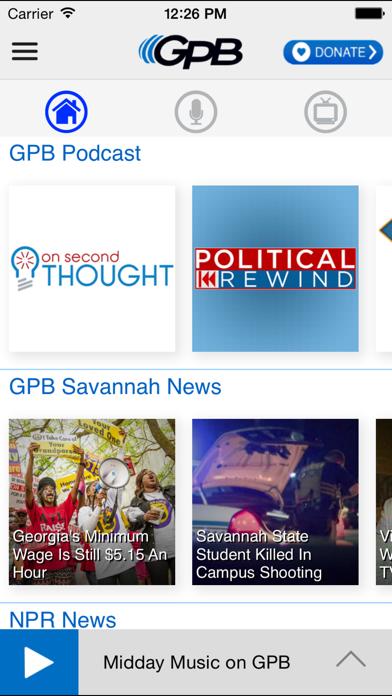 GPB Savannah screenshot two