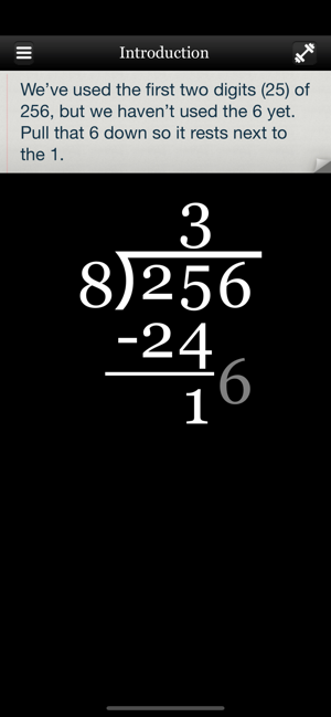 ‎Long Division Touch Screenshot
