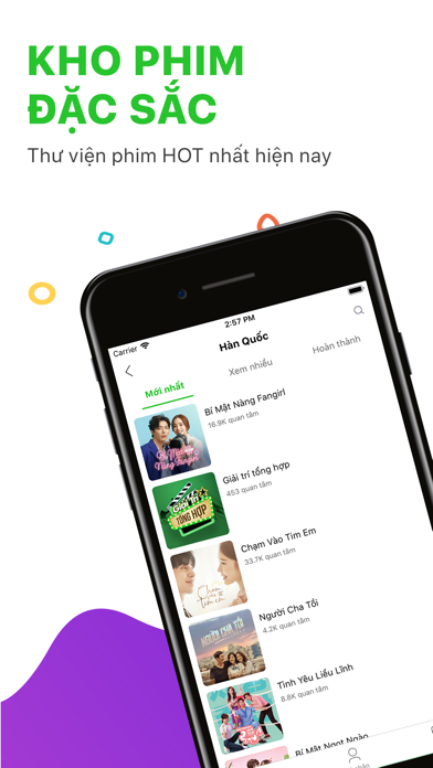 Screenshot for Zing TV – Xem phim mới HD in Viet Nam App Store