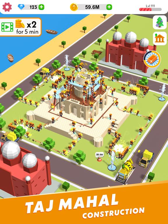 Игра Idle Construction 3D