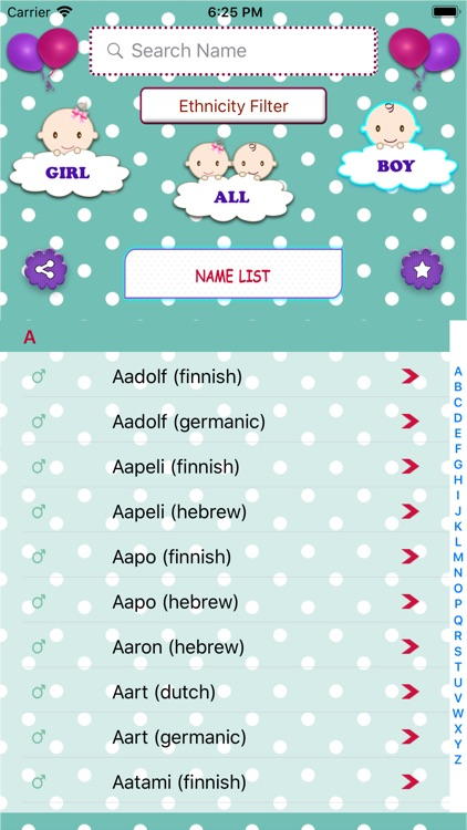 Baby Names Dictionary screenshot-3