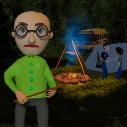 Camping with Scary Teacher