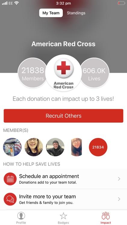 Blood Donor American Red Cross screenshot-5