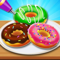 Donut Baking & Cooking Game