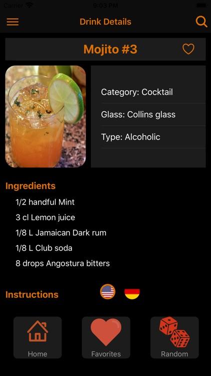 Drinks & Cocktails - Recipes screenshot-4