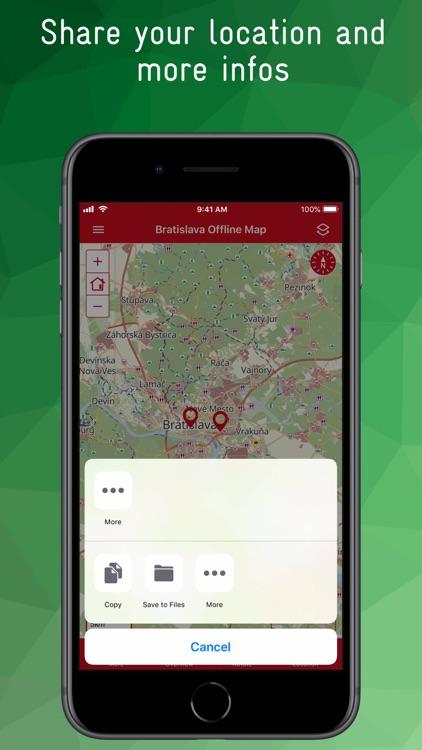 Bratislava Offline Map screenshot-9