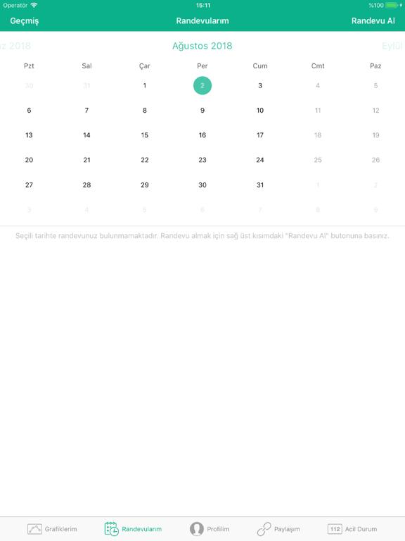 e-Nabız ipad ekran görüntüleri