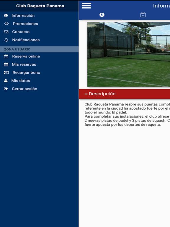 Club Raqueta Panama screenshot 5