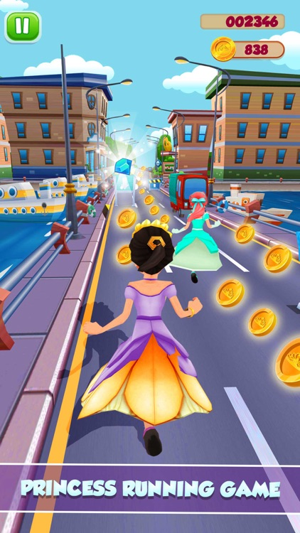 Princess Runner Dash Game screenshot-2
