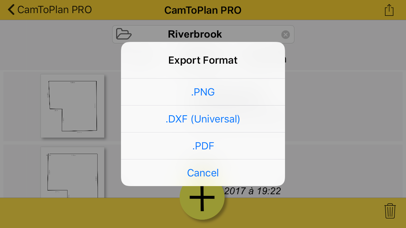 Screenshot for CamToPlan PRO in Spain App Store