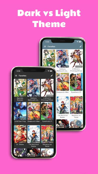 Screen Shot Manga Melon - Manga Reader App 4