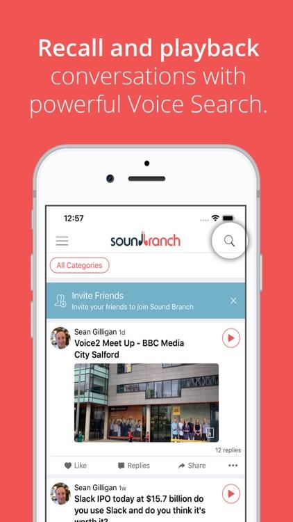 Sound Branch Voice Messenger screenshot-3