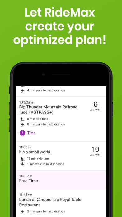 RideMax WDW Screenshot