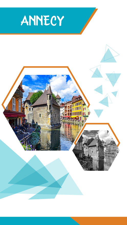 Annecy Offline Travel Guide App 截图
