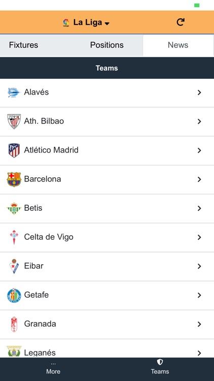 FullScore - Football and News screenshot-4