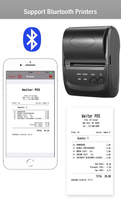 Restaurant POS System - WAITER på PC