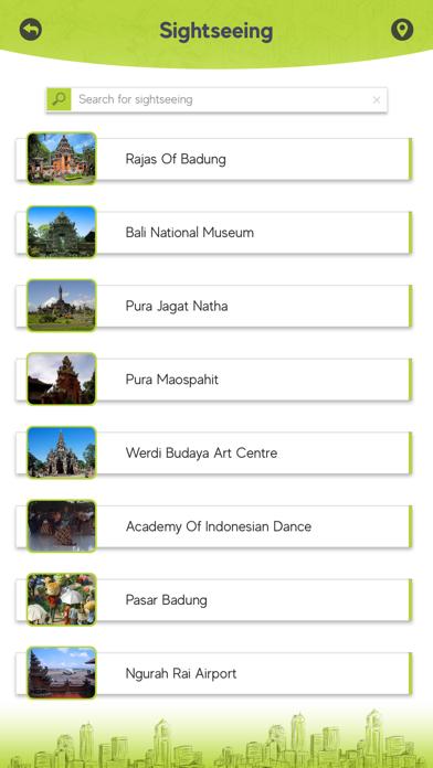 Denpasar Tourism Screenshot