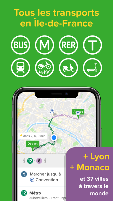 Screenshot #1 pour Citymapper