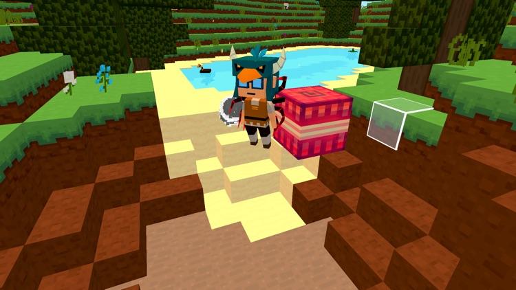 Cube build: pocket block craft screenshot-3