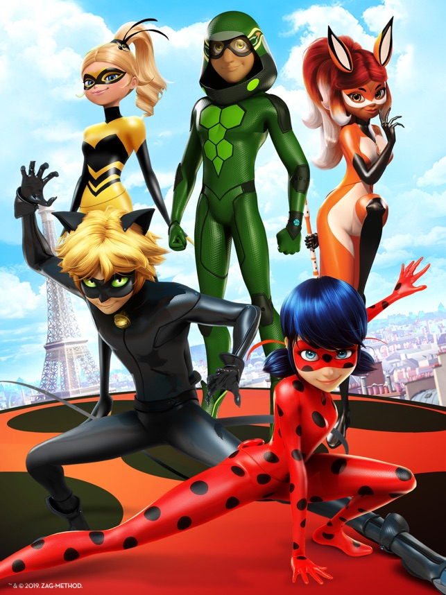 Miraculous Ladybug & Cat Noir on the App Store