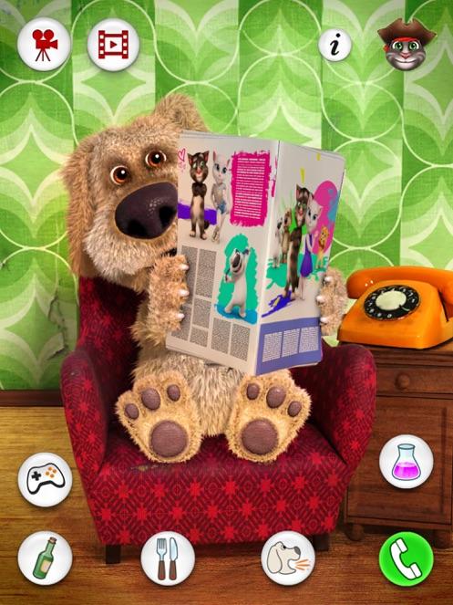 会说话的狗狗本 iPad 版 App 截图
