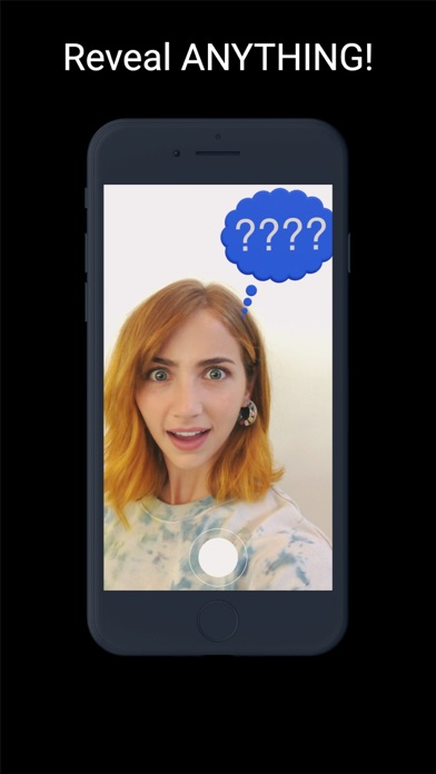 Screenshot of AR Psychic App