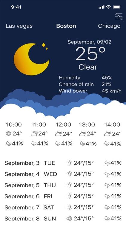 My Weather - Forecast App